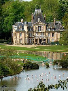 Voyage to France Beautiful Castles, Beautiful Buildings, Beautiful Places, The Places Youll Go, Places To Go, French Castles, Château Fort, Castle House, Palaces