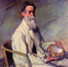 Ignacio Zuloaga - Retrato de Daniel Zuloaga