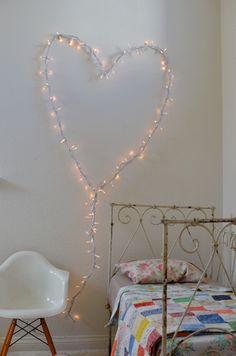 Heart light.