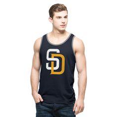 MLB San Diego Padres '47 Crosstown Tank Top - Navy