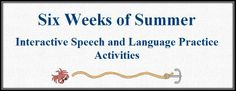 The Budget SLP: Six Weeks of Interactive Speech and Language Practice Activities (Apps Included!)
