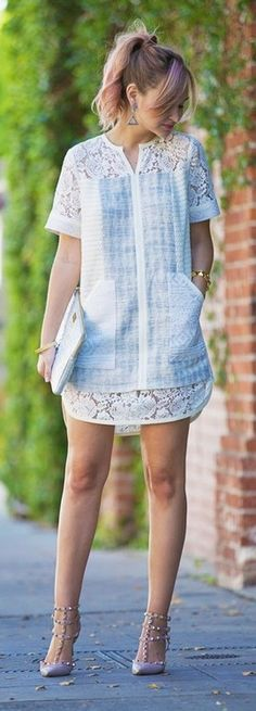 """Daywear - Late Afternoon (^.^) Thanks, Pinterest Pinners, for stopping by, viewing, re-pinning, & following my boards. Have a beautiful day! ^..^ and """"Feel free to share on Pinterest ^..^ #fashion #fashionupdates"""