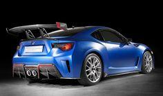 Subaru STI Performance Concept, trasera