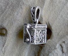 Prayer Box Necklace Secret Compartment Locket by LKArtChic on Etsy