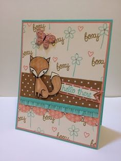 stamp. craft. pin.: A Foxy Background....