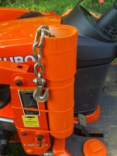 chainsaw scabbard for tractor Compact Tractor Attachments, Garden Tractor Attachments, Atv Attachments, Homemade Tractor, Tractor Accessories, Kubota Tractors, Tractor Implements, Compact Tractors, Ford Tractors