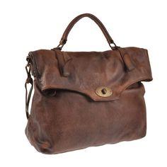 Pellevera borsa uomo donna in pelle lavata a mano e tracolla leather handbag 76bb8372efc