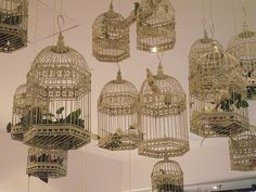 A Pair & A Spare | DIY Lampshades and Birdcages
