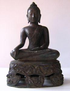 Antique Bronze Buddha Sculpture, ABA01 Buddha Sculpture, Buddha Statues, Buddhist Art, Love Symbols, Sculptures, Bronze, Bagan, Antiques, Image