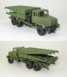 Schwere Mechanisierte Begletbrucke TMM-3М1 auf KrAZ-260 NVA UdSSR - 1:87 HO