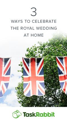 Tips for throwing a wedding viewing party to celebrate Prince Harry and Meghan Markle.