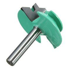 """새로운 도착 1 개 45 잠금 마이 라우터 비트 1-1/2 """"직경 1/4"""" 생크 나무 커터 목공 드릴링 power tools 최고의"""