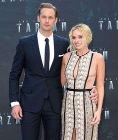 Margot Robbie and Alexander Skarsgard at the Legend of Tarzan premiere! See what else happened!
