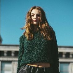 Milly Faux Fur Crop Top by Jessica Faulkner
