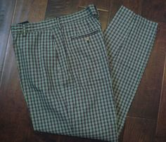 Tommy Hilfiger Womens Golf Check Pants Size 14 Mint Condition!  #TommyHilfiger #CasualPants