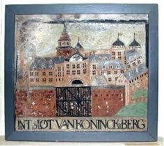 Plaque of the Königsberger Schloss from the Dutch town of Beverwijk