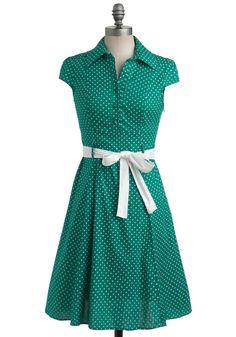 Hepcat Dress in Clover | Mod Retro Vintage Dresses | ModCloth.com