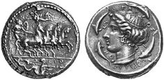 A Rare and Magnificent Greek Silver Tetradrachm of Syracuse (Sicily), Signed by the Engravers Euth[...] and Phrygillos, the Kunstfreund Example   by Ancient Art
