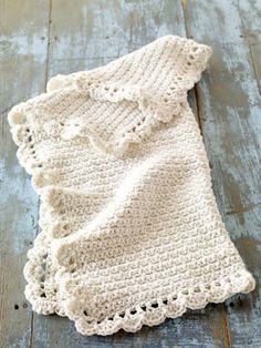 Ravelry: Crochet Baby Blankie #70274AD pattern by Lion Brand Yarn