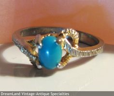 Turquois ring small - MAKE $ OFFER DreamLandSpecialties@comcast.net