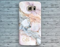 Marble Samsung Galaxy Case White Galaxy S6 Case Red Marble