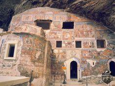 Sumela Monastery is a Greek Orthodox monastery dedicated to the Virgin Mary, at Melá mountain, Turkey