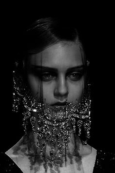 Jeweled veil