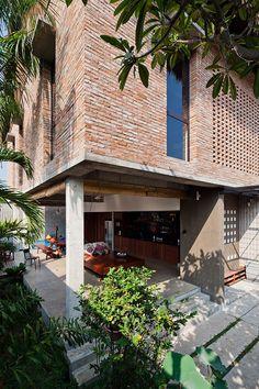 Nhà ở Nhà Bè, Tp. Hồ Chí Minh, Việt Nam – MM++ Architects | KIẾN TRÚC NHÀ NGÓI