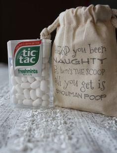 Stocking Stuffers- Snowman Poop - Gag Gifts