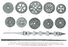 Romanian Spindle Whorls