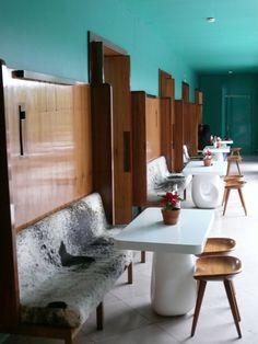 Hotel Interior Modern Design Inspiration / Hotel Design byCOCOON.com #COCOON Dutch designer brand <Hotel Condesa, Mexico>
