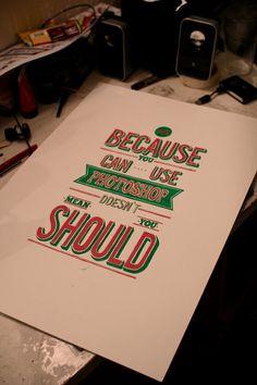 Just because.... on the Behance Network - via http://bit.ly/epinner
