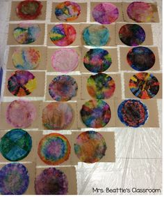 International Dot Day creations in Mrs. Beattie's Classroom. Head over to check out the final product!