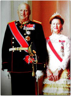 Harald V, King of Norway and Queen Sonja