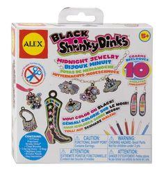 ALEX® Toys - Craft Black Shrinky Dinks Midnight Jewelry www.amazon.com