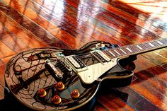 Les Paul HDR by DDivney on Flickr.
