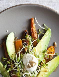 carrot and avocado salad