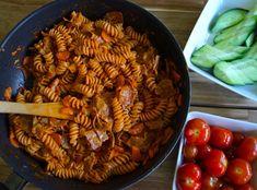 Vönerpasta   Vegaanin ruokavuosi Pasta Salad, Ethnic Recipes, Food, Crab Pasta Salad, Essen, Meals, Yemek, Eten