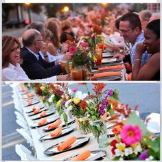 Seeds to Silverware is Uptown Shelby's annual farm-to-table dinner. The celebration of local foods runs right down Washington St on the Court Square and always sells out quickly.