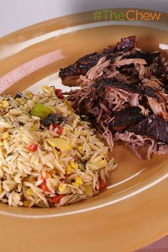 This slow roasted pork and grilled vegetable orzo packs a ton of flavor into a delicious summertime dish. Try this Puerto Rican Style Roast Pork: Pernil tonight!