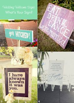 Ideas for Wedding Welcome Signs  #weddingsigns #diywelcomesigns