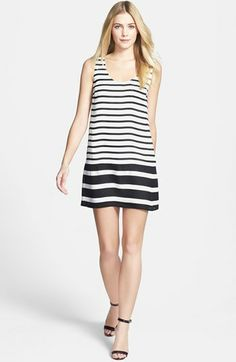 Joie 'Dawna C.' Stripe Silk Tank Dress available at #Nordstrom