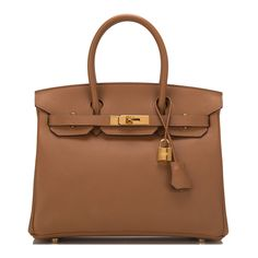 hermes miel honey brown shiny nilo crocodile 35cm birkin bag with gold hardware