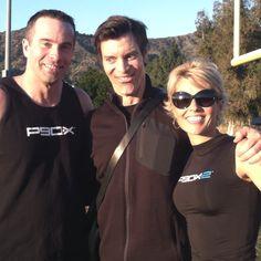 With Tony Horton & Doug Fitzgerald :)