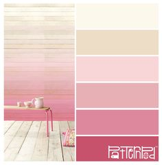 Powder Pink Ombre #patternpod #patternpodcolor #color