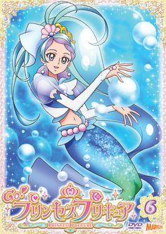 Go! Princess Pretty Cure Vol. Anime Music, Anime Art, Anime Chibi, Kawaii Anime, Evee Evolution, Anime Angel Girl, Anime Princess, Mermaid Art, Pretty Cure