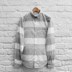 Norse Projects Anton Slub Shirt Light Grey