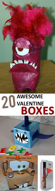 Your kids will be the hit of the classroom with these Valentine Box ideas!
