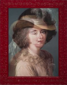 Stuart Netsky, DuBarry was a Lady?, 2012, archival prigment print, 29 1/2 x 23 inches