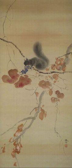 Hishida Shunso 菱田春草 (1874-1911).